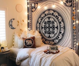 decor, beautiful, and bedroom image