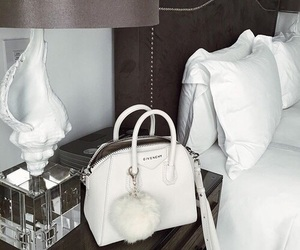 Givenchy, bag, and bedroom image