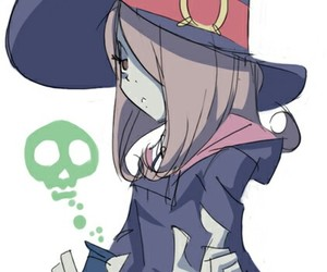 anime, little witch academia, and sucy image