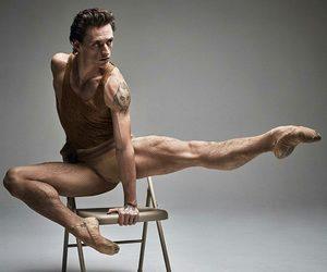 ballet, jump, and sergei polunin image