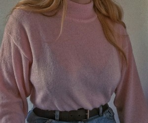 pink, 90s, and fashion image