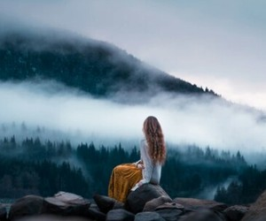 girl, travel, and natur image