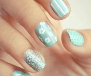 nail, nails, and nailspolish image