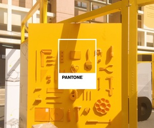 pantone, tools, and yellow image