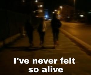 alive, dark, and night image