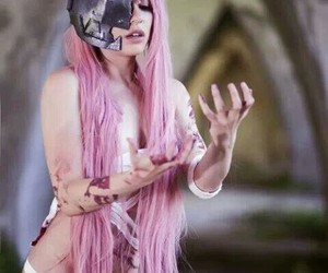 cosplay, elfen lied, and Lucy image