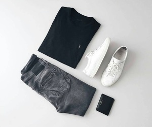 black, boys, and casual image
