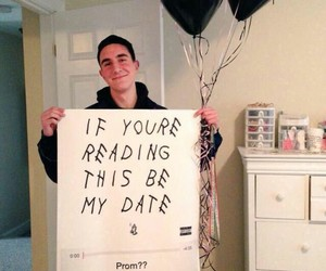 Prom, Drake, and date image