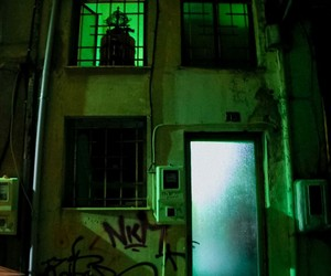 glow, green, and urban aesthetic image