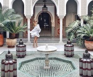fashion, girl, and morocco image