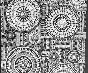art, doodle, and mandala image