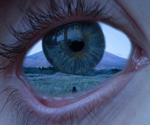 eye, eyes, and grunge image