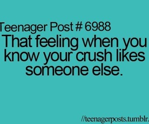 crush and teenager post image