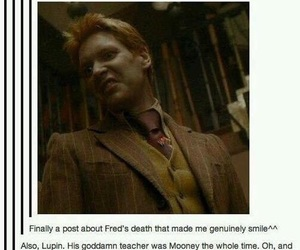 harry potter, fred weasley, and funny image