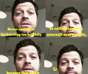 actor, mishacollins, and mystory image