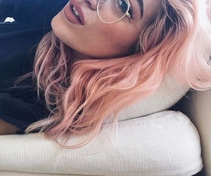 alternative, glasses, and hair image