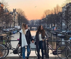 friends, amsterdam, and goals image