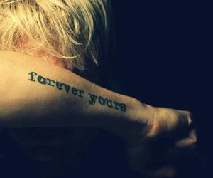 samu haber, tattoo, and forever yours image