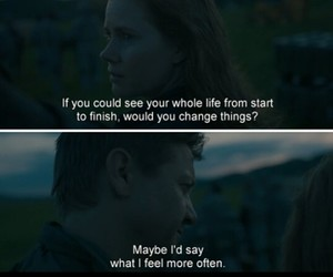 life, quotes, and arrival image