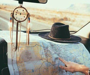 travel, map, and trip image
