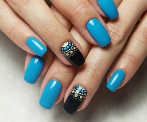blue, indie, and lacquer image
