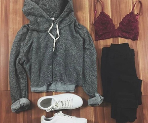 black, fashion, and look image