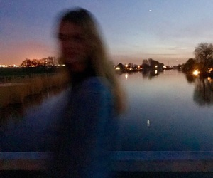 blur, nights, and water image