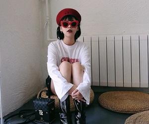 alternative, face, and fashion image