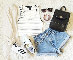 adidas, outfit, and summer image