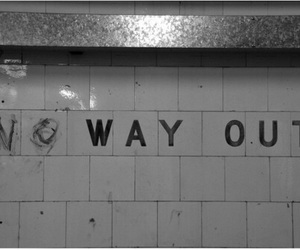 grunge, quotes, and no way out image