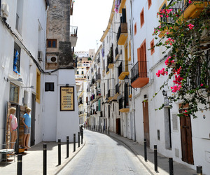 spain, travel, and eivissa image
