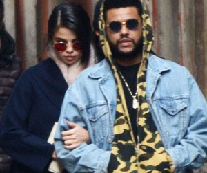 actress, selena gomez, and the weeknd image