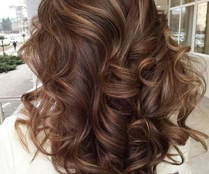 brown, curly, and girls image