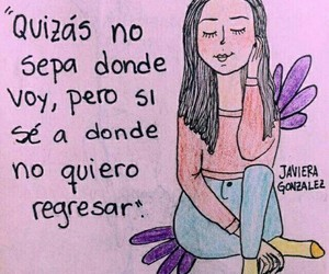 frases, girl, and quotes image
