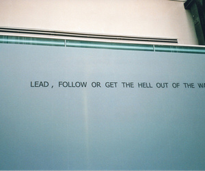 quote, hell, and lead image