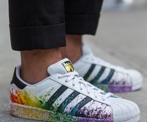 adidas, adidas shoes, and adidas superstar image