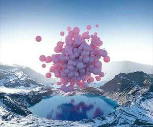 alternative, naturaleza, and pink image