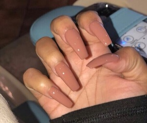 boss, nails, and Nude image