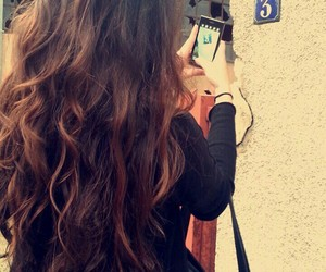 girl, long hair, and Turkish image