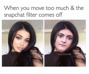 funny, filter, and snapchat image