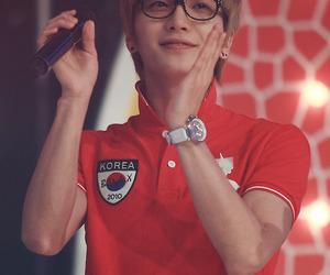 glasses, Leeteuk, and super junior image
