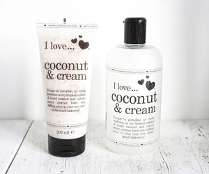 coconut, cream, and i love image