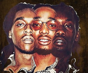 $, migos, and bad and boujee image