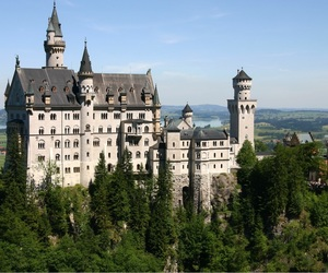 big, castle, and germany image