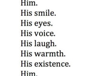 him, love, and smile image