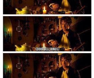 funny, Martin Freeman, and hobbit image