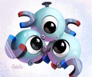 pokemon and magneton image