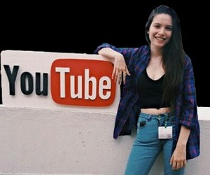 youtube, youtube space, and mica suarez image