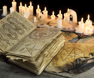 witch, witchcraft, and book image