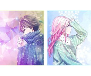 guilty crown, anime, and couple image